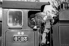 Looking ahead on 6023 at Toddington (Fred Ellis -) Tags: gwsr 6023 gwr great western toddington england steam train canon