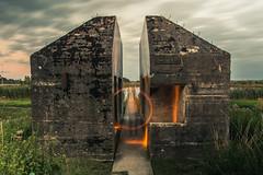 IMG_8632 (ewijk-fotografie.nl) Tags: bunker 599 bunker599 culemborg nederland netherlands dutch light painting lightpainting war oorlog warmonument monument