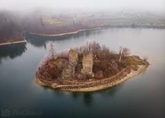 L'île d'Ogoz (Olivier Rapin) Tags: 20200123 dji drone gruyere lac mavicair ogoz photolivierch ile fribourg switzerland suisse hiver