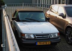 1993 Saab 900 S Cabriolet 2.0 (rvandermaar) Tags: 1993 saab 900 s convertible 20 saab900 cabrio cabriolet 79ktk3