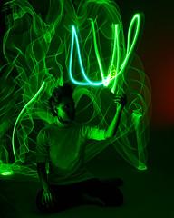 Green (wirehead) Tags: lightpainting em5mk2 25mm14 green gen3piano long exposure longexposure
