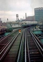 CTA Ravenswood Halsted St Feb73 (jsmatlak) Tags: cta chicago l elevated train rapid transit subway metro 6000