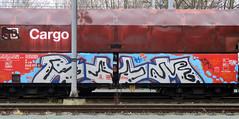 Graffiti on Freights (wojofoto) Tags: amsterdam nederland netherland holland freighttraingraffiti freighttrain freights cargotrain vrachttrein güterzug fr8 graffiti streetart wojofoto wolfgangjosten rum