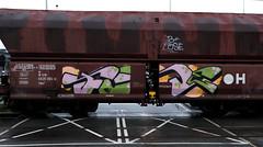 Graffiti on Freights (wojofoto) Tags: amsterdam nederland netherland holland freighttraingraffiti freighttrain freights cargotrain vrachttrein güterzug fr8 graffiti streetart wojofoto wolfgangjosten fuse