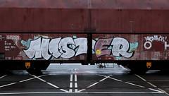 Graffiti on Freights (wojofoto) Tags: amsterdam nederland netherland holland freighttraingraffiti freighttrain freights cargotrain vrachttrein güterzug fr8 graffiti streetart wojofoto wolfgangjosten mister