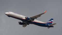 Aeroflot A321, VP-BAZ,  TLV-SVO (LLBG Spotter) Tags: vpbaz a321 tlv aircraft airline aeroflot llbg