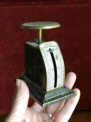Grandpa's Scales (ruthlesscrab) Tags: yester vintage retro antique werehere hereios wah