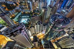 Hong Kong Vertigo (DanielKHC) Tags: hongkong china vertigo cityscape looking down digital blending buildings architecture nikon d850 nikkor1424mmf28