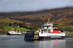 Loch Dunvegan & Loch Bhrusda (Zak355) Tags: rothesay isleofbute bute scotland scottish calmac ferry ferries lochbhrusda riverclyde ship boat rhubodach lochdunvegan