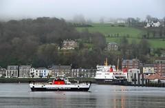 Loch Bhrusda & MV Bute (Zak355) Tags: rothesay isleofbute bute scotland scottish calmac ferry ferries lochbhrusda riverclyde ship boat mvbute