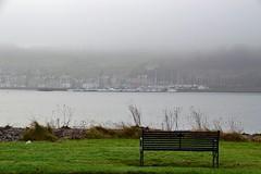 (Zak355) Tags: rothesay isleofbute bute scotland scottish mist portbannatyne marina