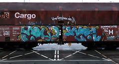 Graffiti on Freights (wojofoto) Tags: amsterdam nederland netherland holland freighttraingraffiti freighttrain freights cargotrain vrachttrein güterzug fr8 graffiti streetart wojofoto wolfgangjosten swek