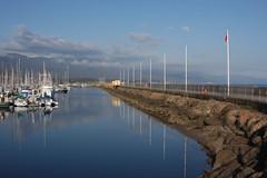 Quiet and Still (Damian Gadal) Tags: santabarbara california harbor nautical reflections