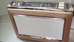 Photo of 1965 Bush TR 130 Transistor Radio . MW - LW