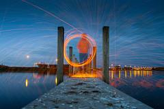 IMG_8641 (ewijk-fotografie.nl) Tags: bunker 599 bunker599 culemborg nederland netherlands dutch light painting lightpainting war oorlog warmonument monument