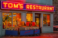 Tom's Restaurant Seinfeld (Susan Candelario) Tags: comedy condition fl florida harlem jerryseinfeld location manhattan morningsideheights ny nyc newyork newyorkcity northamerica panhandle seinfeld sunshinestate susancandelario tomsrestaurant tom's unitedstates upperwestside architectural architecture broadway building cityscape classic coffeeshop door doors doorway entrance evening exit exterior famous iconic illuminated lights lit neon night nydiner nycdiner outside restaurant signs sitcom street television upper windows