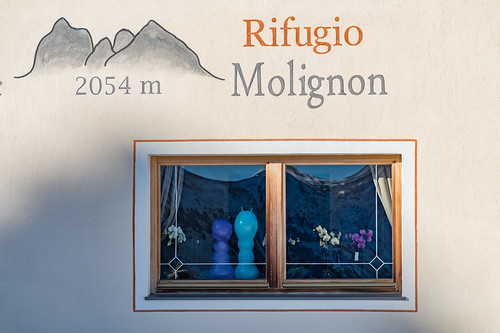 Rifugio Molignon, Mahlknechthütte, 2054m