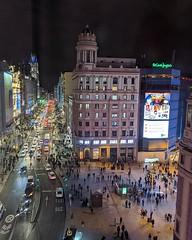 Vistas desde la habitación del hotel. I love Madrid (luisete) Tags: móvil mobile instagram
