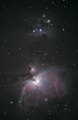 M42 and Sh2-279 2020 Jan. 20 (SlartyB52) Tags: m42 orion nebula sh2279 running man