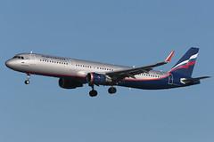Airbus A321-211 VP-BKR Aeroflot (Mark McEwan) Tags: airbus a321 a321211 vpbkr aeroflot aviation aircraft airplane airliner lhr heathrow heathrowairport