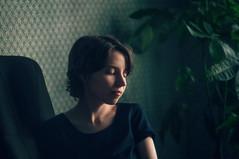 *** (zeldabylinovitch) Tags: portrait girl mood melancholy manuallens color