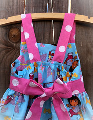 49426919818_99ac5ca15b_o-1 (Lil' Bug Clothing) Tags: dora the explorer jumper dress