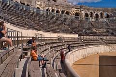 Arena Nimes (AWe63) Tags: amphitheater arena theater roman römer römischeruinen antik nimes südfrankreich provence france frankreich pentax pentaxk1mkii luminar4 luminar madewithluminar andreasweyermann cawe63