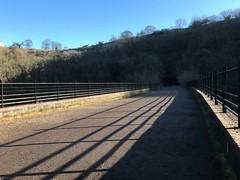 monsal_trail4 (Windless) Tags: mensal trail derbyshire viaduct winter sun reflection tunnel