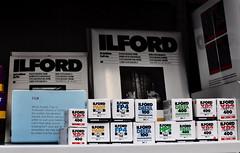 The Ilford Shelf (Clive Varley) Tags: ilfordfilm liverpool december2019 affinityphotobeta