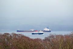 Neptune Moon & Caley Isles (Zak355) Tags: rothesay isleofbute bute scotland scottish calmac ferry ferries shipping ship boat vessel neptunemoon mvcaledonianisles fueltanker