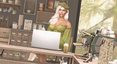 But First Coffee (Ally Berry Resident) Tags: secondlife gaming sl legacy