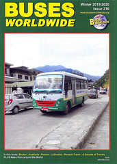 BWW216 (Steve Guess) Tags: bww buses worldwide magazine cover 216 winter 20192020
