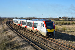 755410 - Whittlesea - 19/01/20. (TRphotography04) Tags: greater anglia stadler flirt 755410 approaches whittlesea station 2l75 1417 peterborough ipswich service