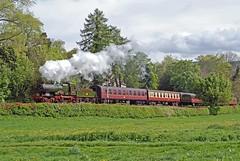 city of truro (midcheshireman) Tags: steam train locomotive cityoftruro 34xx greatwestern llangollen wales
