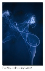 Photo of Blue Smoke Art