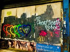 Chose Love - NYC (verplanck) Tags: manhattan streetart graffiti chelsea