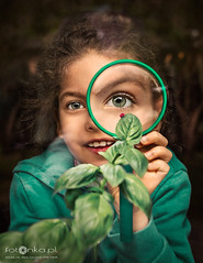 Green (fotonka.pl) Tags: green glass eyes beautifuleyes plant magnifier babygirl girl children child childrenphoto childrenphotography childrenphotos childrenphotographer childhood childmemories childhoodmemories childchood childchoodmemories kids kid kidsphotography kidsphoto kidsphotographer kidsphotos family