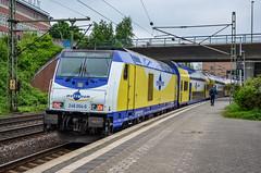 246 004-6 Metronom Hamburg-Harburg 19.05.13 (Paul David Smith - Epping) Tags: 2460046 metronom hamburgharburg 190513 246 traxx de