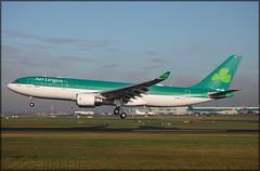 EI-GEY Airbus A330-202 Aer Lingus (elevationair ✈) Tags: dub eidw dublin airport dublinairport ireland sun sunny sunshine arrival landing winter airbus a330 a332 airbusa330202 shamrock aerlingus eigey ei140