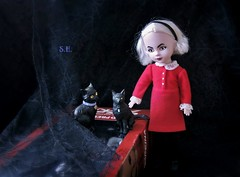 Two Salems are better than one! (pianocats16) Tags: sabrina spellman chilling adventures living dead dolls doll salem black cat teenage witch vintage netflix series comic presents
