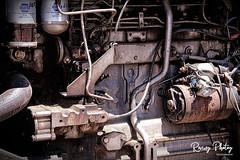 Tractor Engine (robtm2010) Tags: framingham massachusetts usa newengland canon canon7d 7d eastleighfarm farm eastcoast tractor tractorengine motorvehicle vehicle
