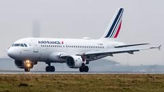 Airbus A319-111 F-GRHK Air France (William Musculus) Tags: paris charles de gaulle lfpg cdg roissy roissyenfrance airport aeroport plane airplane spotting william musculus fgrhk air france airbus a319111 af afr a319100