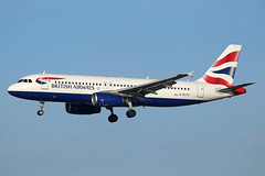 British Airways Airbus A320-232, G-EUYC. (Trevor Mulkerrins) Tags: british airways airbus a320232 geuyc 3721