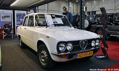 Alfa Romeo Giulia 1600 Super 1979 (XBXG) Tags: hz05bv alfa romeo giulia 1600 super 1979 alfaromeogiulia alfaromeo ar blanc white interclassics 2020 forum expo exhibition mecc maastricht limburg nederland holland netherlands paysbas vintage old classic italian car auto automobile voiture ancienne italienne italie italia italy vehicle indoor