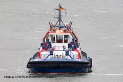 Fairplay XI (andreasspoerri) Tags: alltypesoftransport astillerosarmonnavia deutschland fairplayxi imo9725108 rotterdam schlepper transport tug