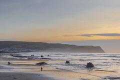 Borth (dannie843) Tags: borth wales ceredigion sea coast beach sunset village