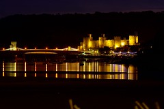 Conway castle (wonderboy1974) Tags: wales nighttime conway longexposure castle