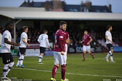 Arbroath 0 - 0 Falkirk - (Scotsman_in_Hawaii) Tags: arbroathfc arbroath lichties theredlichties scottishfootball scottishcup thewilliamhillscottishcup canon5dm3 canon1dxmarkii football soccer cmonthelichties gayfield gayfieldpark saturday18thjanuary2020 falkirk thebairns cup