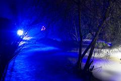 2018 Décembre - Pont Aven.020 (hubert_lan562) Tags: pont aven pose longue long exposer nuit riviere lumière bleu eau