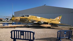 Sukhoi Su-22M4 (S-54K) in Madrid (J.Comstedt) Tags: aircraft aviation air aeroplane museum airplane flight johnny comstedt museo de aeronautica astronautica madrid spain spania aire spanish force east germany sukhoi su 22 686 2518